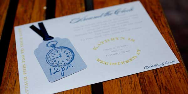Around the clock bridal shower - круглосуточный девичник - как организовать - варианты декора - идеи