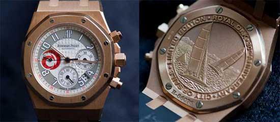 Настоящие рэперские часы - Audemars Piguet Royal Oak City Of Sails