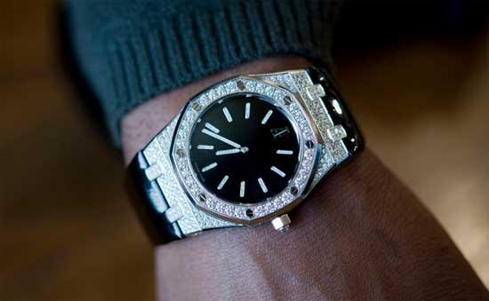 Настоящие рэперские часы - Audemars Piguet Royal Oak Tuxedo