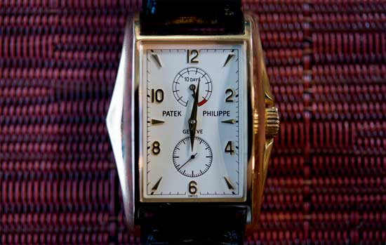 Настоящие рэперские часы - Patek Philippe 5100J 10 Day