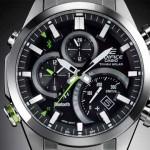 Классические наручные часы Casio Edifice EQB 500D с Bluetooth модулем - как подключить к смартфону