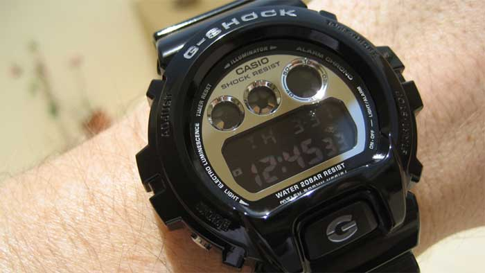 Casio G-Shock Mirror-Metallic DW6900NB