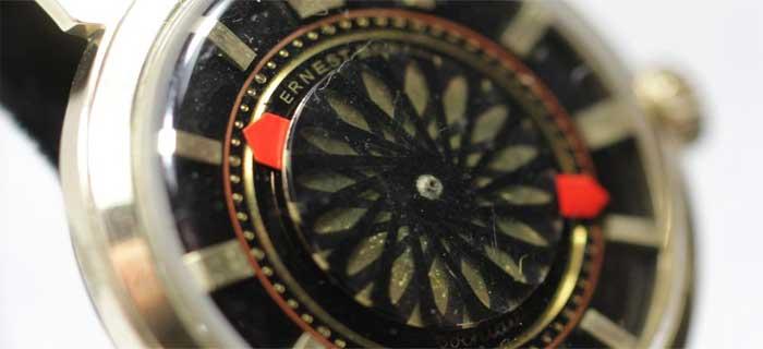 Уникальные наручные часы - Ernest Borel Kaleidoscope - винтажные - цена - купить