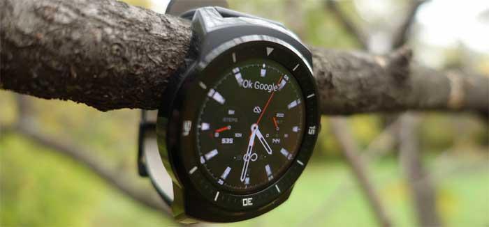 G Watch R — LG выпускает первые смартчасы на WebOS