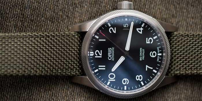 Часы пилоты Oris Big Crown ProPilot Day Date Automatic - обзор - купить