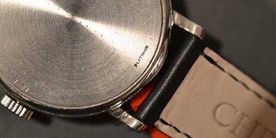 Коллекционные наручные часы Patek Philippe ref. 2458 - платина - цена