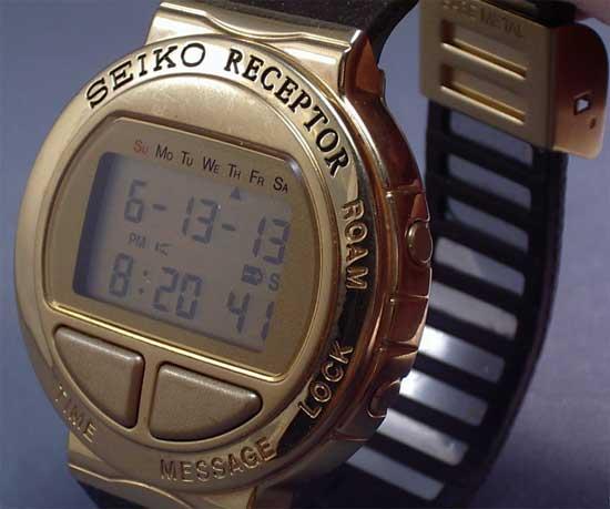Первые смарт-часы - Seiko Receptor