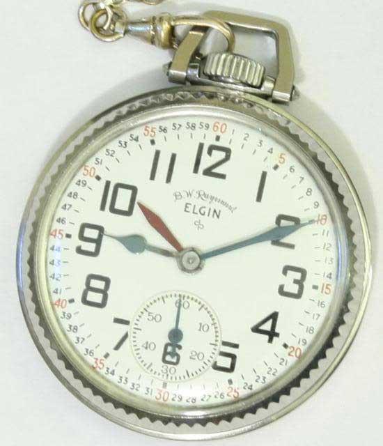Железнодорожное время - railway time - история - карманные часы