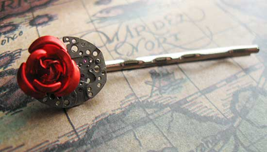 Steampunk - стимпанк - мода - аксессуары - наручные часы - Romain Jerome