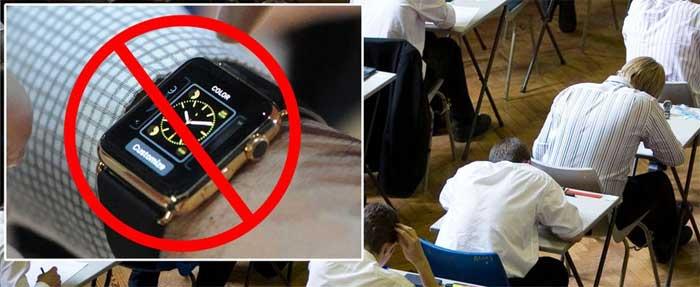 В западных университетах запрещают наручные часы вместе со смарт-часами