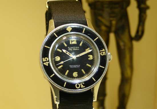 военные часы Blancpain Fifty Fathoms