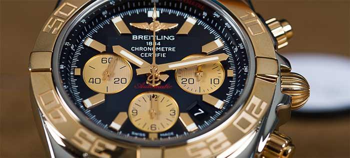 Знаменитые часовые марки: Breitling