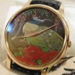 Экслюзивные швейцарские наручные часы - творчество художника - рисунок уруши