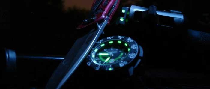 Технология подсветки GTLS trigalight — тригалайт в часах
