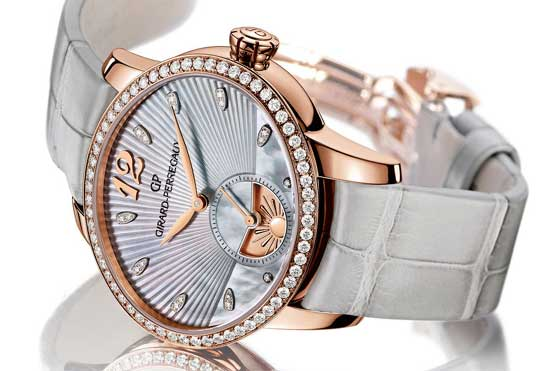 овальные часы Girard-Perregaux Cat's Eye