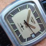 Первые наручные кварцевые часы - Longines Ultra-Quartz 6512