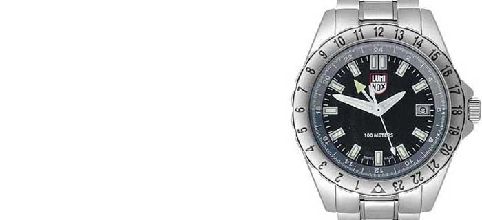 Мужские наручные часы LUMINOX 2002 GMT: для делового человека