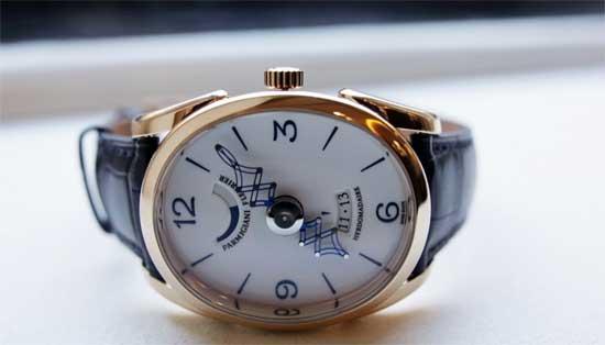 уникальные овальные часы Parmigiani Fleurier Ovale Pantographe