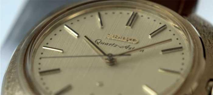 Первые наручные кварцевые часы - Seiko Quartz Astron