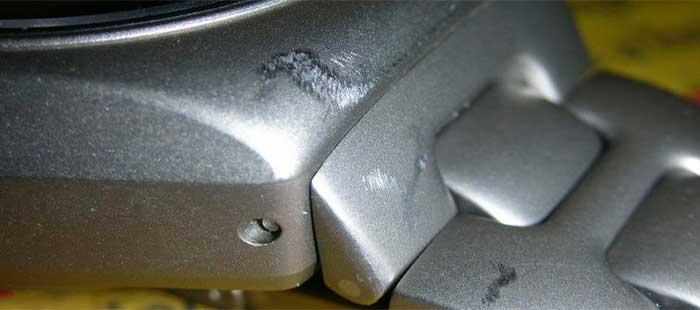 Почистить стальной браслет