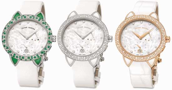 овальные часы Ulysse Nardin Jade