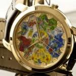 Наручные часы картина - искусство художника - эксклюзивные часы