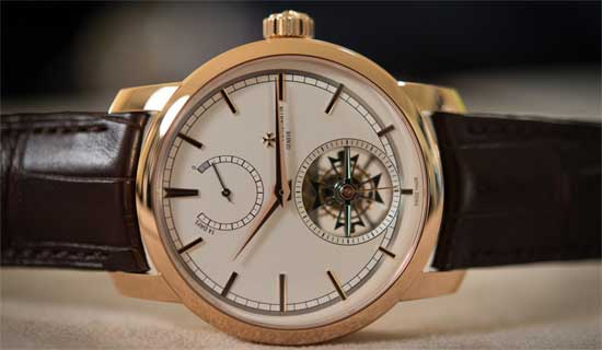 часы банкира Vacheron Constantin Patrimony Traditionnelle 14-Day Tourbillon