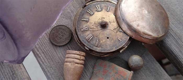 Сколько стоят металлоискатели - старинные часы