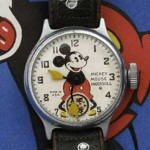 часы с микки маусом