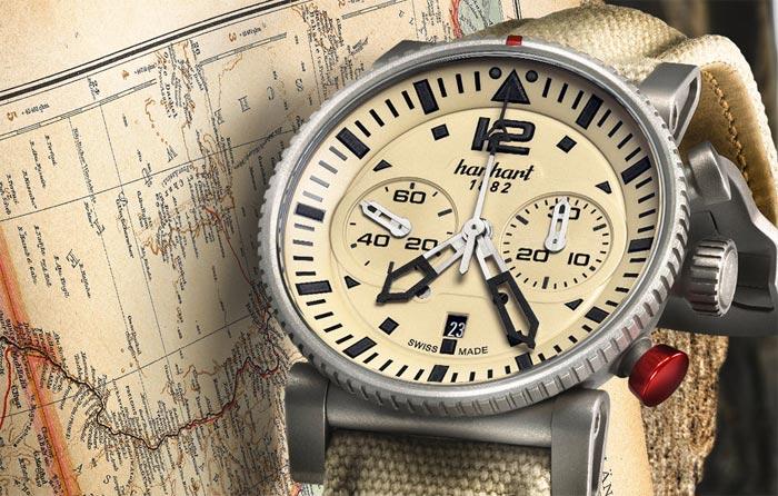 Юбилейные Hanhart Desert Pilot: обзор модели