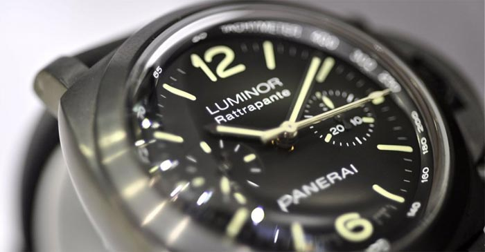 Panerai Luminor 1950 Rattrapante Dubail Paris limited edition fly-back
