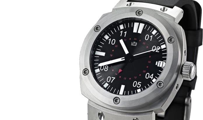 UTS Adventure GMT Diver: часы для дайвинга