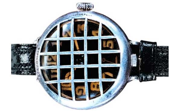 Боевые часы Girard-Perregaux. Конец 19 в. Решетка-гриль