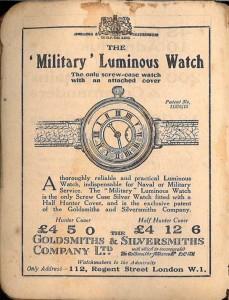 Военные наручные часы: история создания