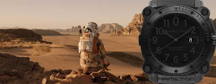 Часы «Марсианина»: Hamilton Khaki Navy BeLOWZERO — как в книге?