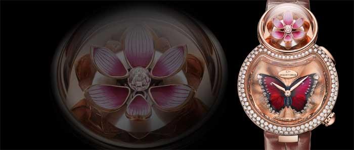 Lady 8 Flower от Jaquet Droz: гармония, совершенство и бесконечность [видео]