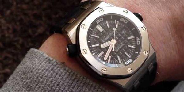 Royal Oak Offshore Diver от AP: часы и для дайвинга тоже … [видео]