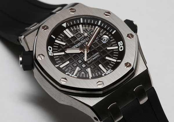 Обзор наручных Royal Oak Offshore Diver - часы и для дайвинга от AP