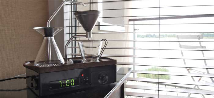 Уникальный кофе будильник Barisieur [фото]