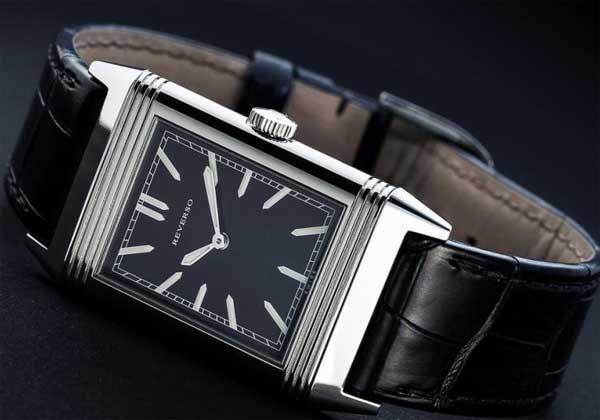 Переворачивающиеся часы - история - Jaeger-LeCoultre Reverso - 1931