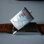Переворачивающиеся часы - история - Universal Geneve Cabriolet