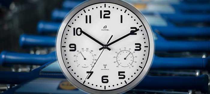 Часовые курьезы: по-немецки самые точные настенные часы от Lidl