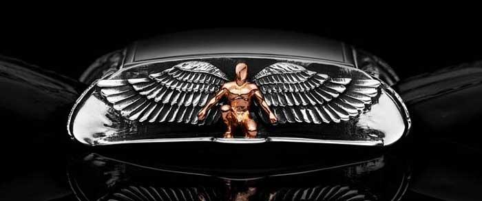 Часы Daniel Strom Angelus - ангельская готика на запястье [фото]