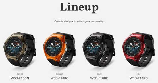 WSD-F10: первые смарт-G-Shock-и от Casio? [видео]