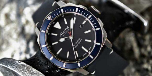 Новые Seastrong Diver 300 Automatic от Alpina: чуть спокойнее, чуть актуальнее [видео]