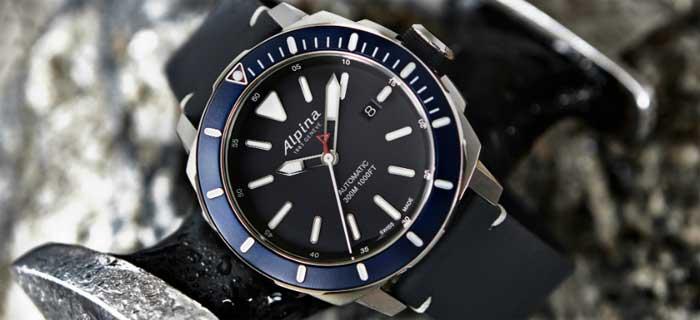 Seastrong Diver 300 Automatic от Alpina: чуть спокойнее, чуть актуальнее [видео]