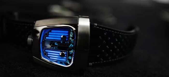 Новые MB&F HMX Black Badger - мгновенное очарование [видео]