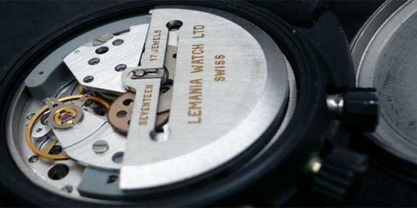 Лучшие механизмы с хронографом: Lemania 5100 [видео]