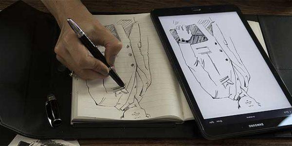 Montblanc Augmented Paper: современная классика в электронном исполнении [видео]
