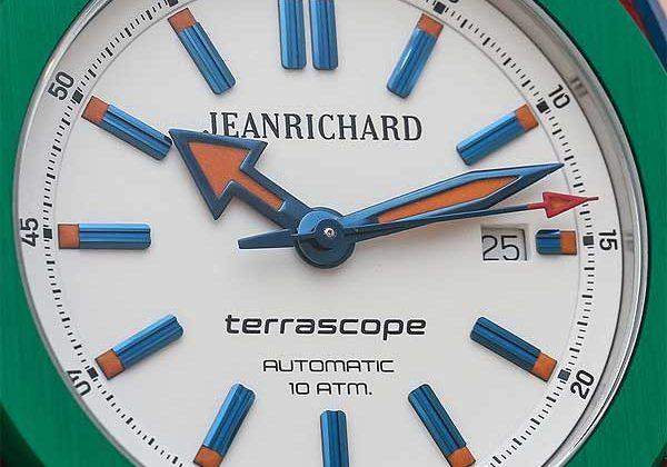 JeanRichard Terrascope Aluminum: по-детски яркий консерватизм – #JeanRichard